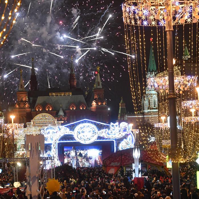Новый год на Красной площади 2019: новогодняя ночь в Москве, отзывы, советы, фото новые фото