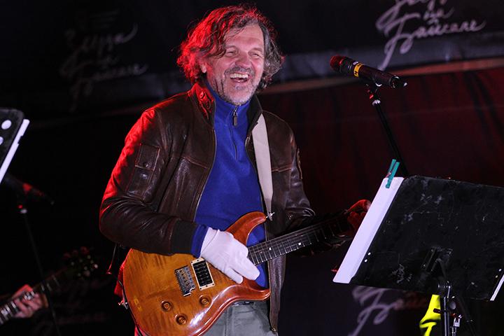 Фото с концерта Эмира Кустурицы в Иркутске