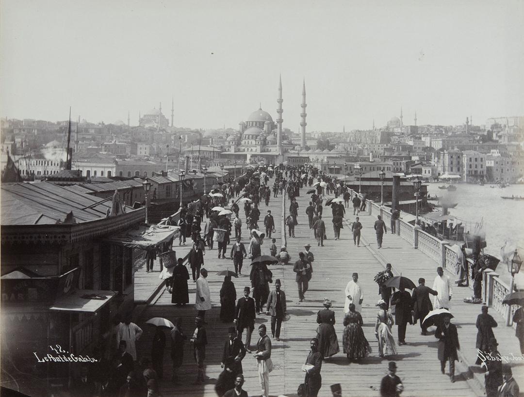 Себа-и-Жоайе.-Галатский-мост.-1885
