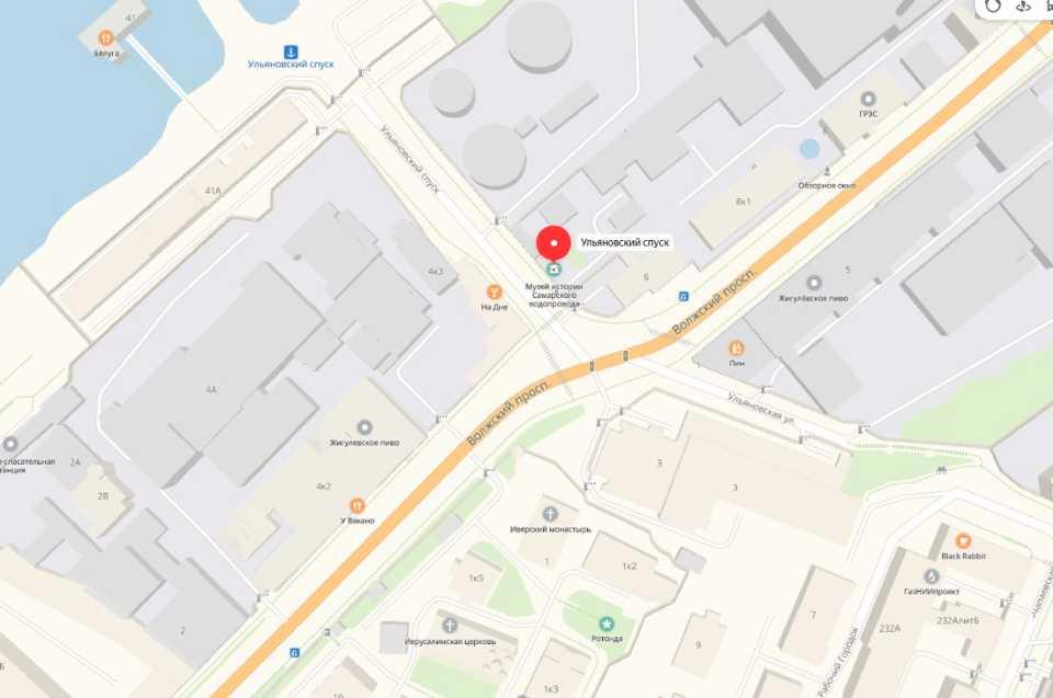 Карта (1) Музей Самарского водопровода