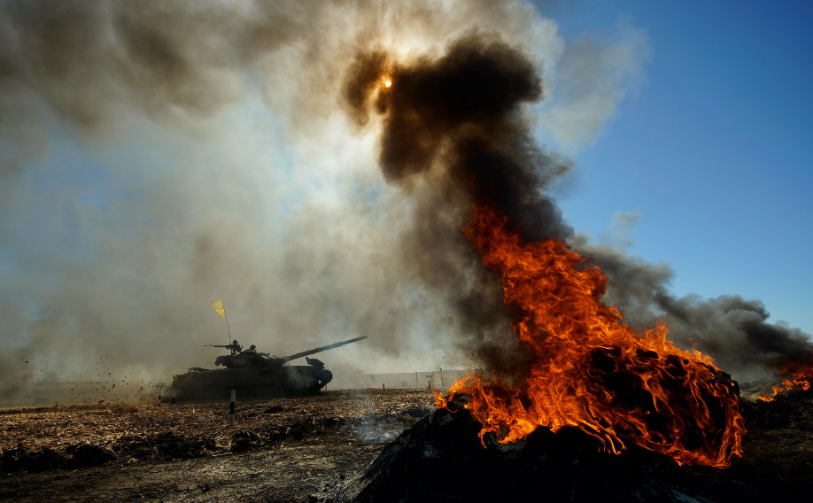 Танковый биатлон Булатов Алексей