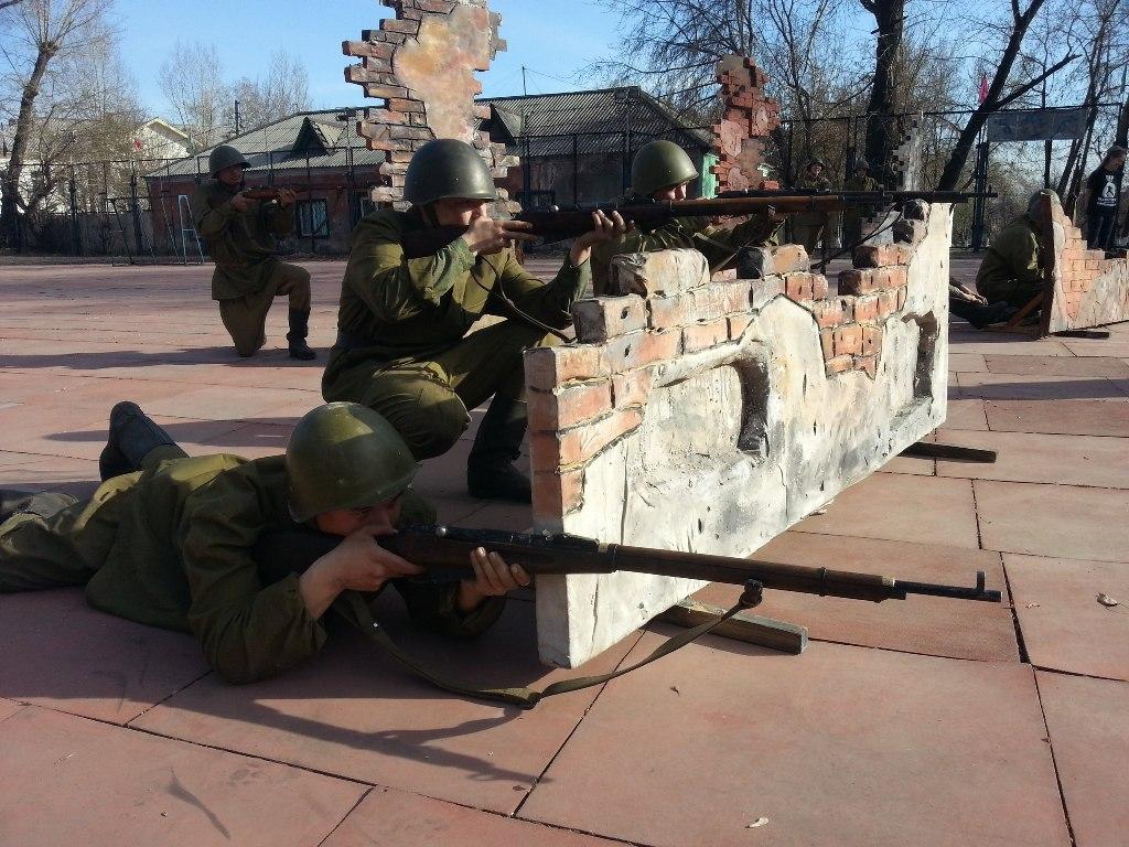 реконструкция сталинградской пых