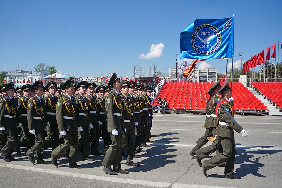 Генеральная репетиция Парада Победы 9 мая 2019 года в Самаре