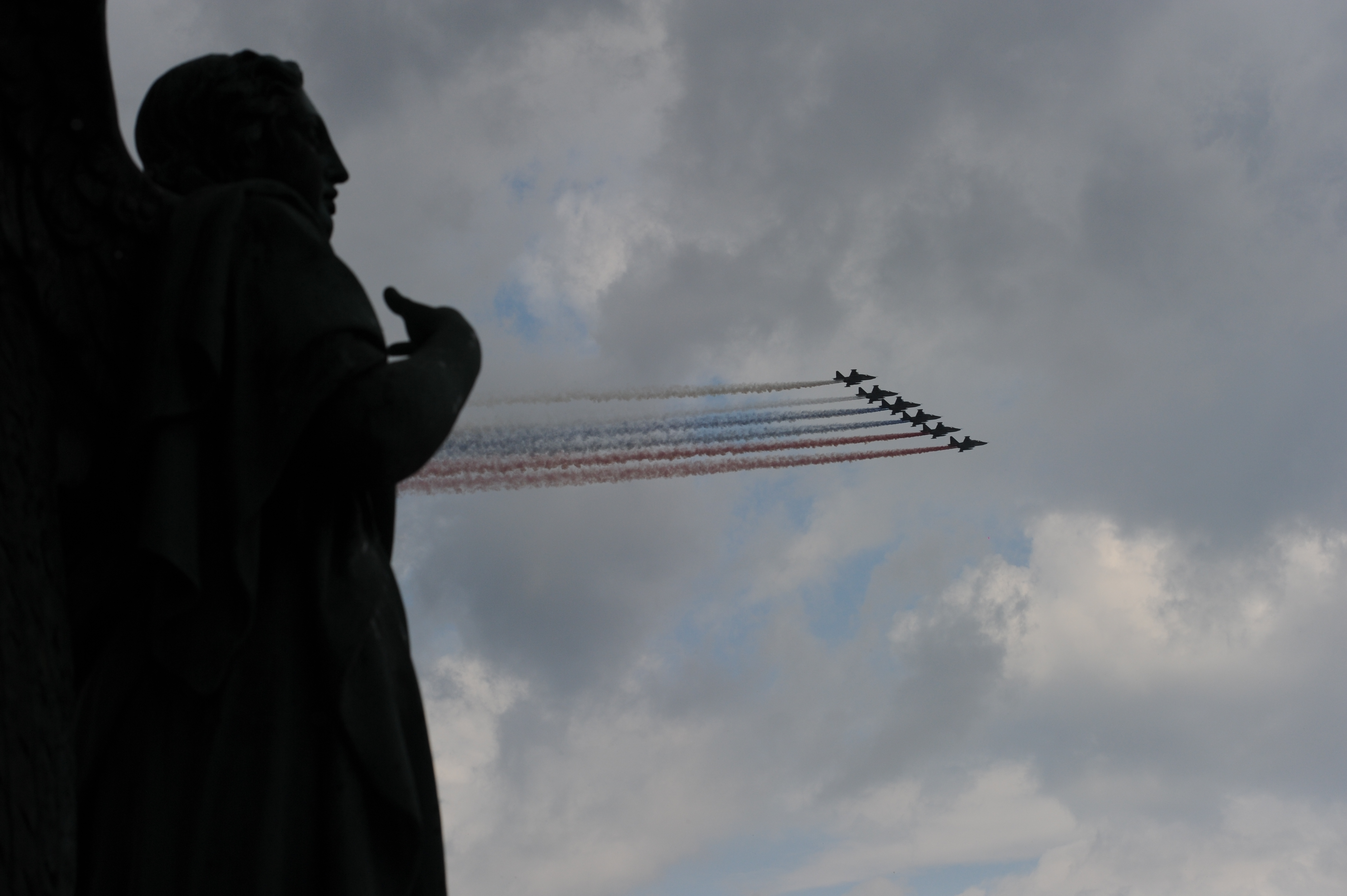 Авиашоу на День ВМФ. Фото: Олег ЗОЛОТО