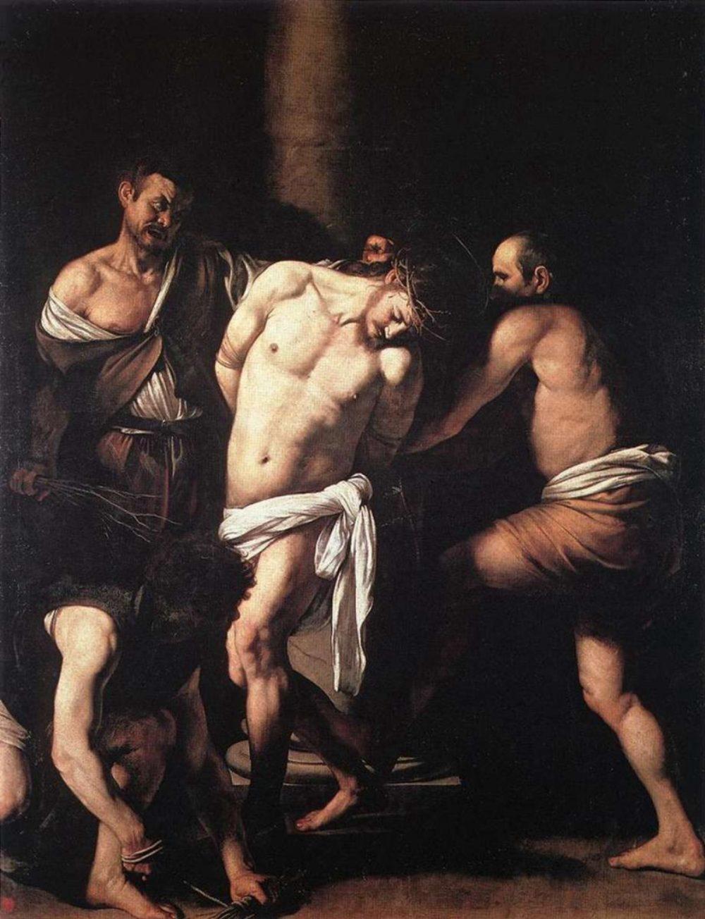 «Бичевание Христа» Караваджо