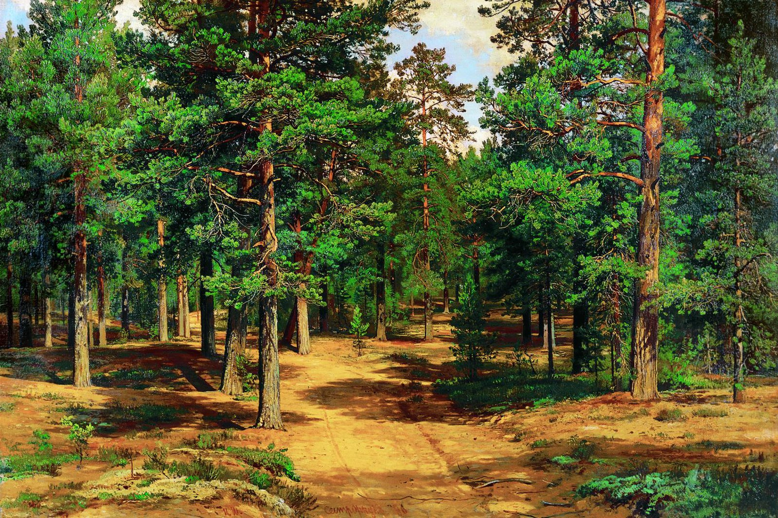 4_Shishkin_I.I._Sestroretskii_bor_1886_-_Serpuhov