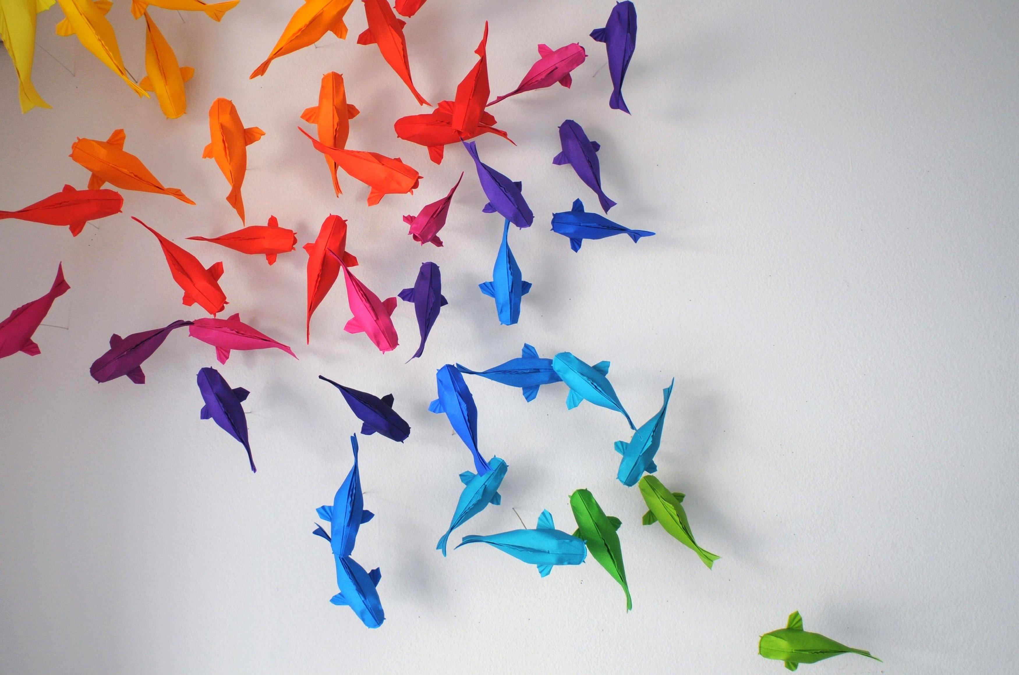 Origami fauna