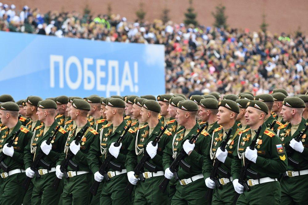 Парад Победы пройдет в Москве 24 июня