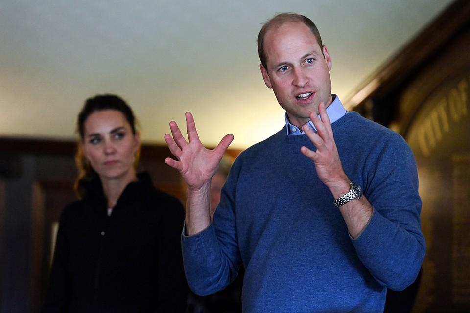 Внука британской королевы Елизаветы II раздражает мусор