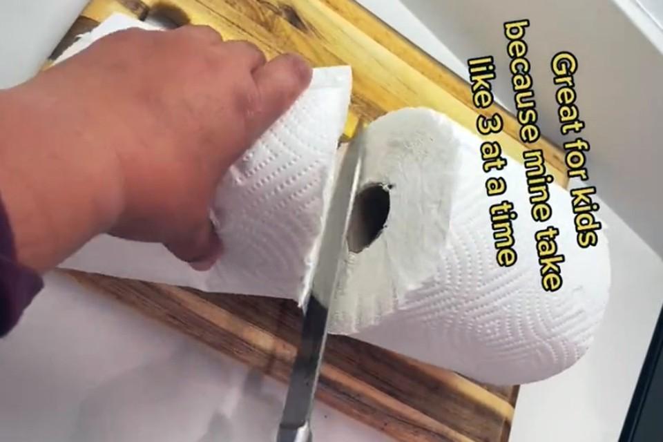 Способ удвоения количества одноразовых бумажных полотенец взорвал Интернет