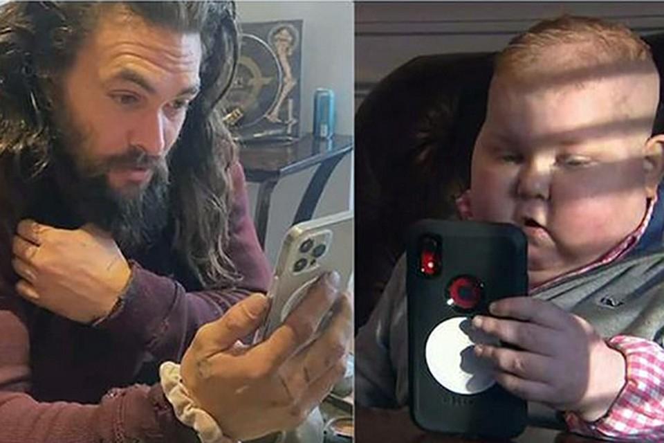 Голливудский актер исполнил мечту 8-летнего мальчика, болевшего раком