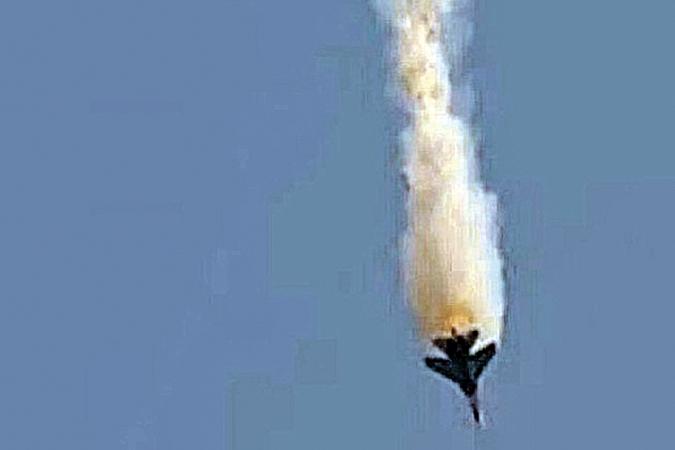 Анкара объявила, что российский Су-24 на границе с Сирией сбили мятежники