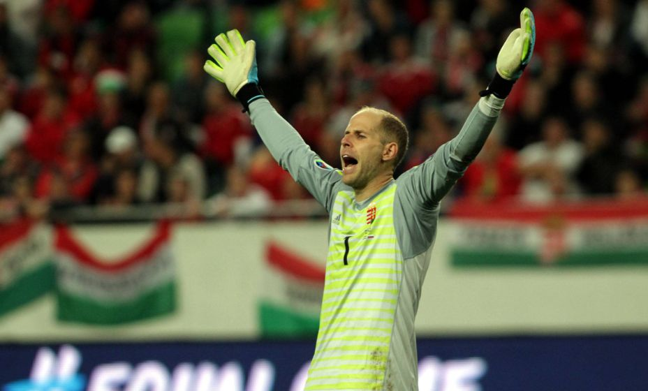 Венгерский вратарь Петер Гулачи выступает за «РБ Лейпциг», где заслужил отличную репутацию. Фото: Global Look Press
