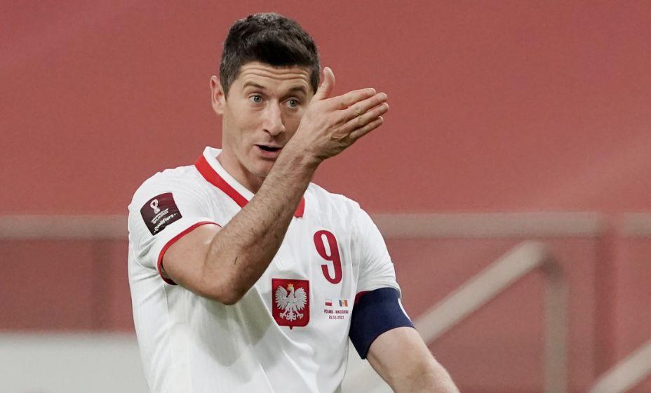 Капитан сборной Польши Роберт Левандовски намерен увеличить свой бомбардирский счет на Евро-2020. Фото: Global Look Press