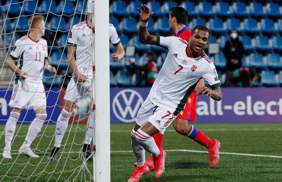 Защитник Лоик Него раскрылся в сборной Венгрии. Фото: Global Look Press