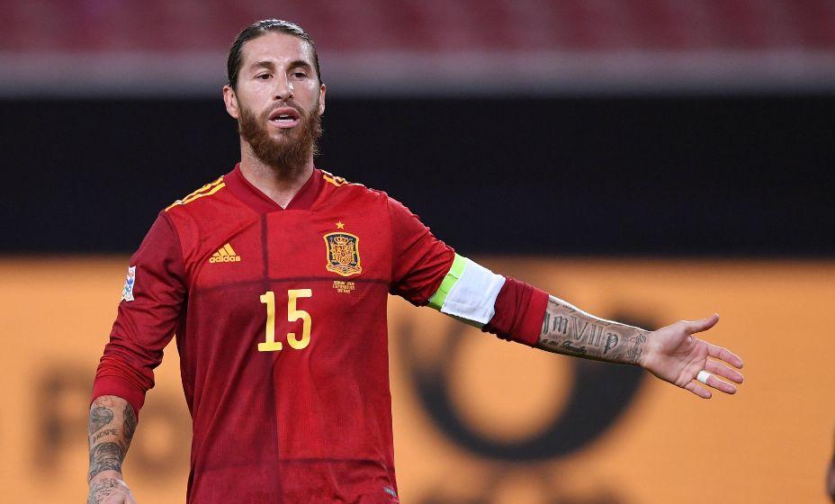 Защитник Серхио Рамос все-таки может оказаться на Евро и поставить новый рекорд по числу матчей, проведенных за сборную. Фото: Global Look Press