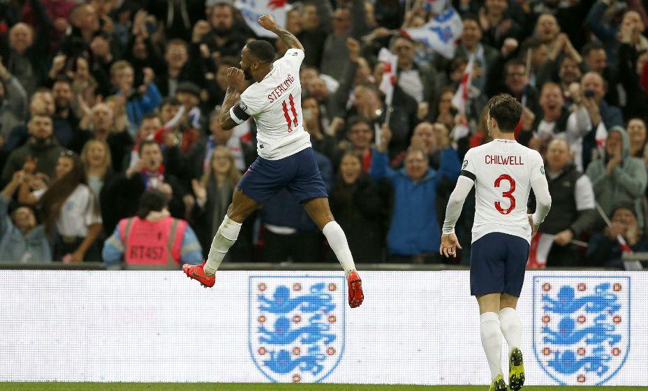Гол Рахима Стерлинга принес победу Англии в матче с Хорватией. Фото: Global Look Press