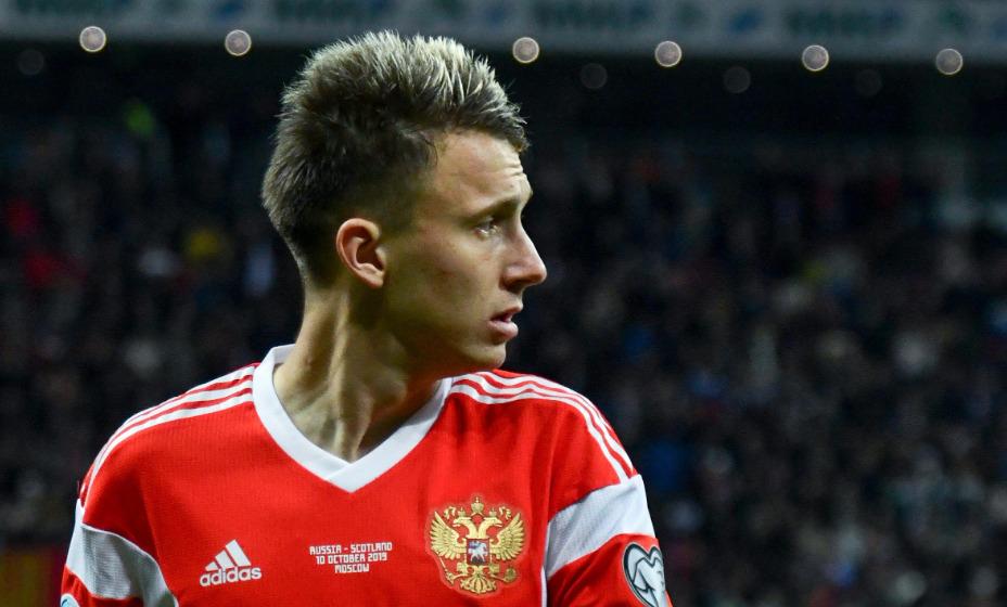 Полузащитник «Монако» и сборной России Александр Головин выйдет на поле с первых минут. Фото: Global Press Look