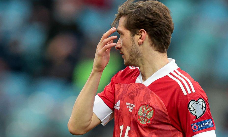 За сборную России Алексей Миранчук забил первый гол. Фото:  Global Look Press