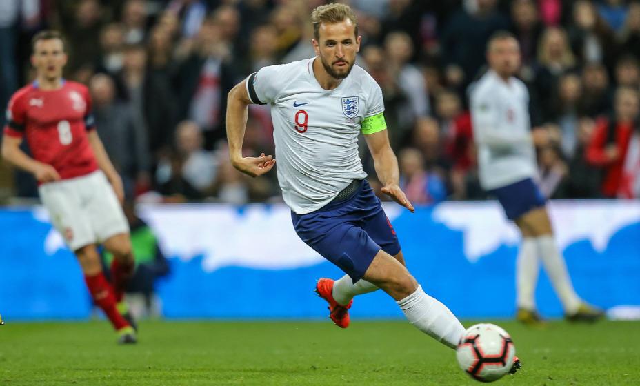 Капитан национальной сборной Англии Гарри Кейн считается главным фаворитом на победу в гонке бомбардиров на Евро-2020. Фото: Global Press Look