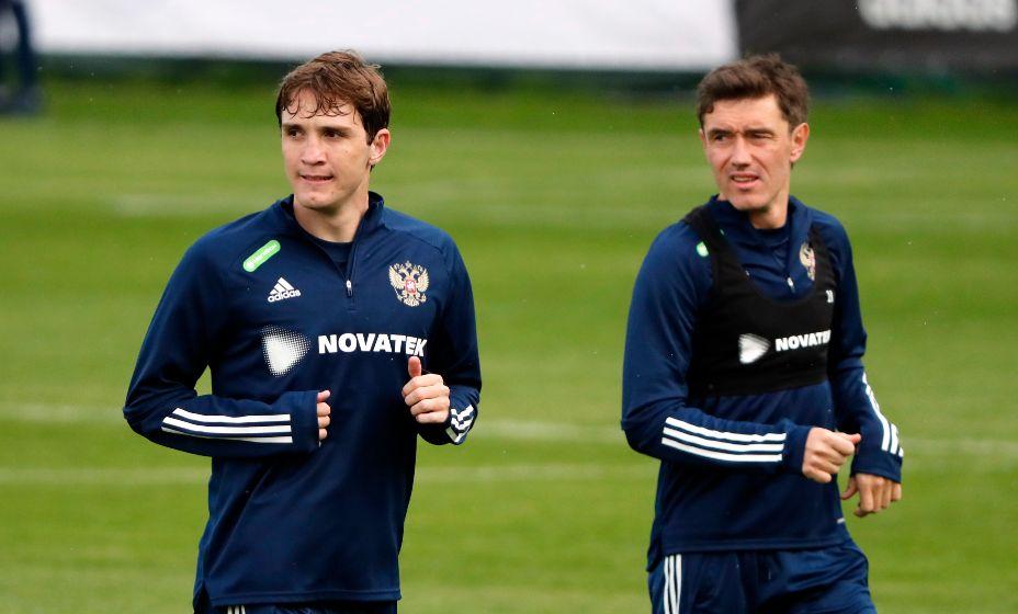 Марио Фернандес (слева) готовится к матчам Евро-2020. Фото: Reuters