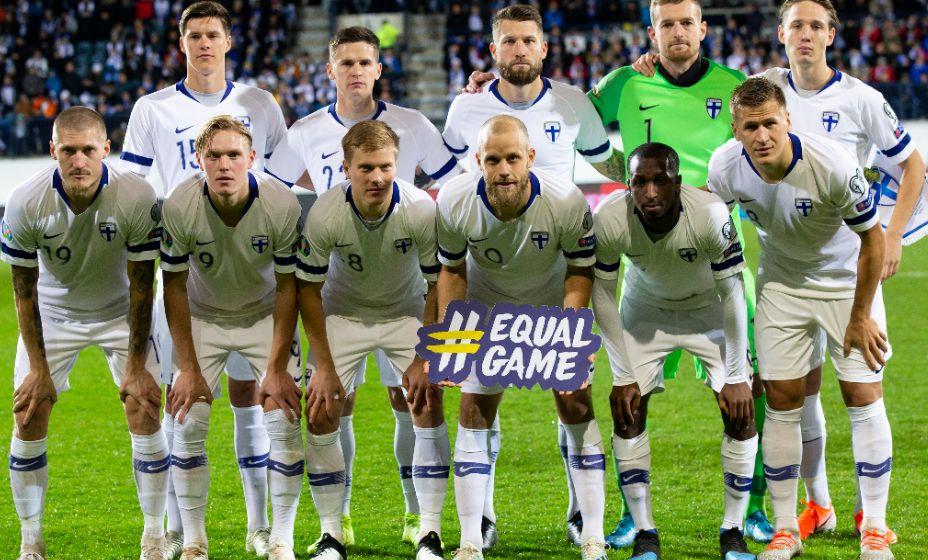 Финская национальная команда впервые выступит на крупном турнире. Фото: Global Look Press