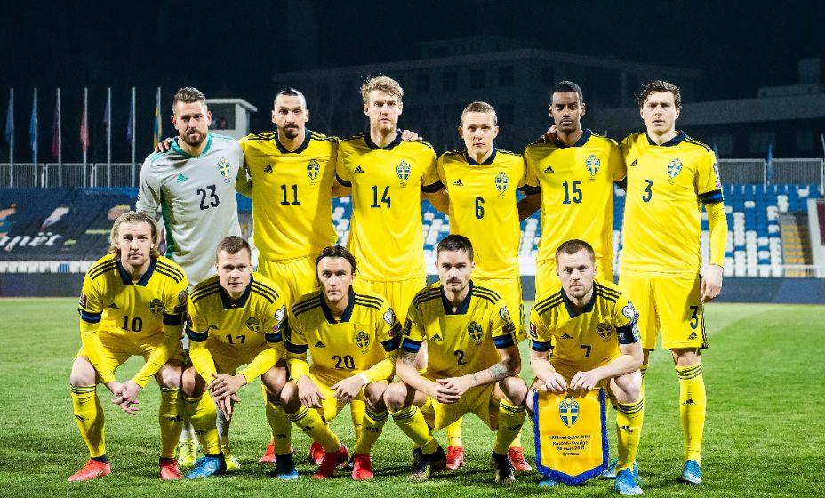 Шведы вышли в финальную часть Евро со второго места в группе, уступив только Испании. Фото: Global Look Press