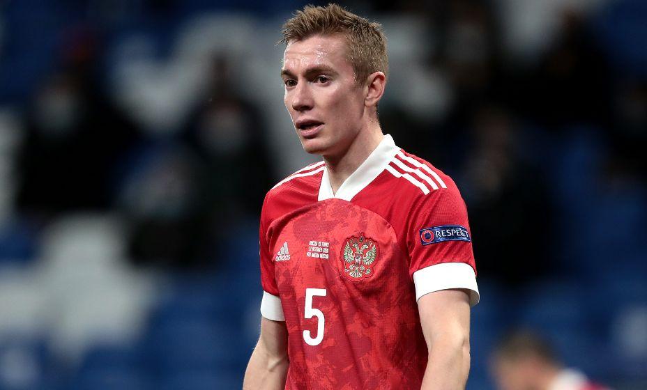 Защитник сборной России Андрей Семенов рассказал об одФото: Global Look Press.