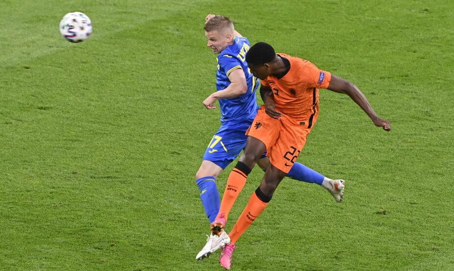 Нидерланды - Украина, Думфрис забивает третий