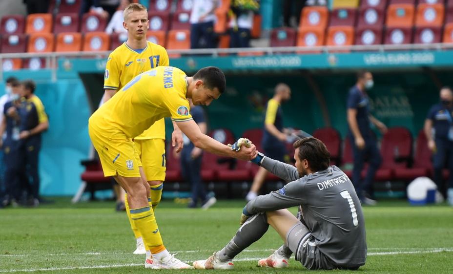 Сборная Украины проиграла Австрии. Фото: Reuters