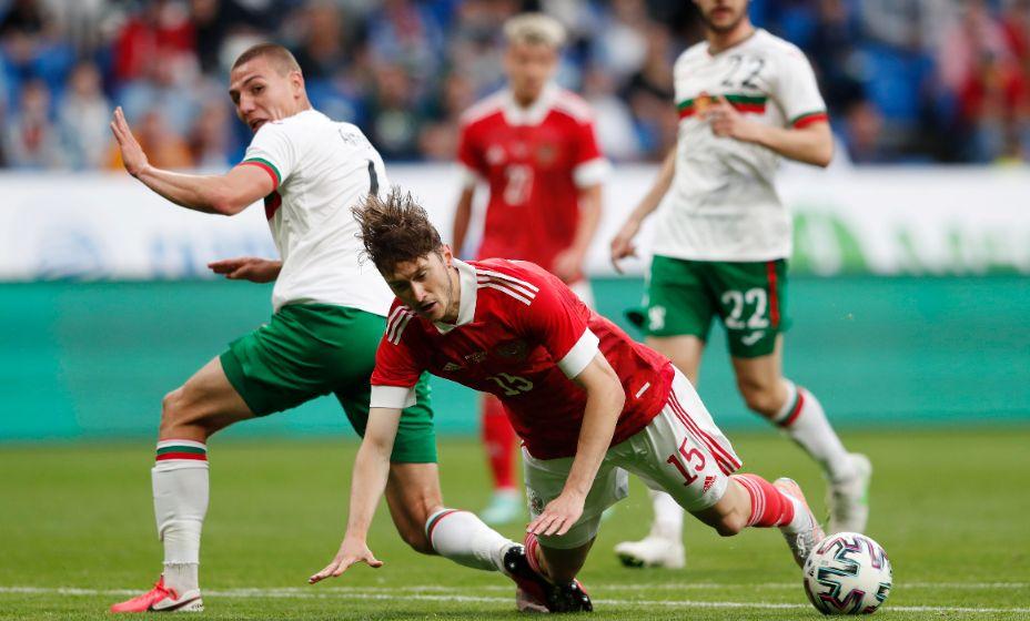 Гол во встрече с болгарами был забит с пенальти, который заработал Алексей Миранчук. Фото: Reuters