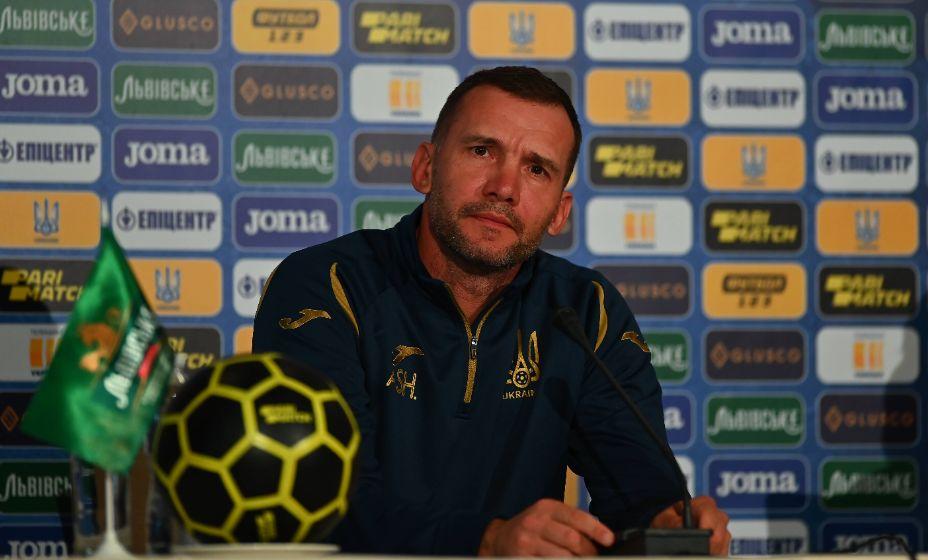 Главный тренер сборной Украины Андрей Шевченко находится в ожидании Евро-2020. Фото: Global Look Press