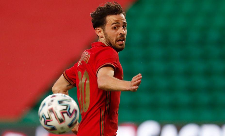 Бернарду Силва в сборной Португалии выступает под статусным №10. Фото: Reuters