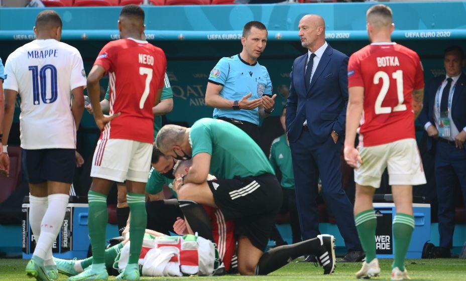 Форвард сборной Венгрии Адам Салаи пережил тепловой удар