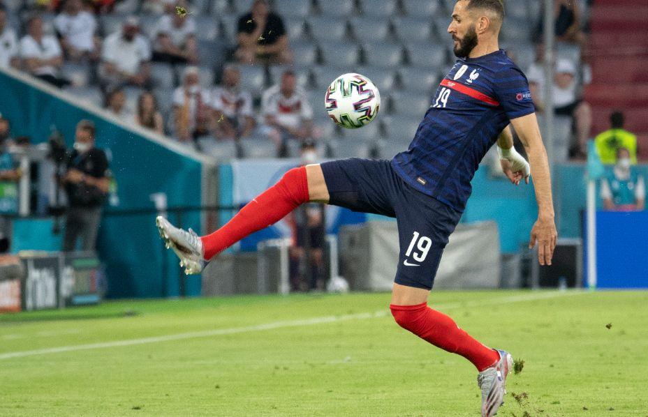 Карима Бензема в состав на матч против Венгрии. Фото: Global Look Press