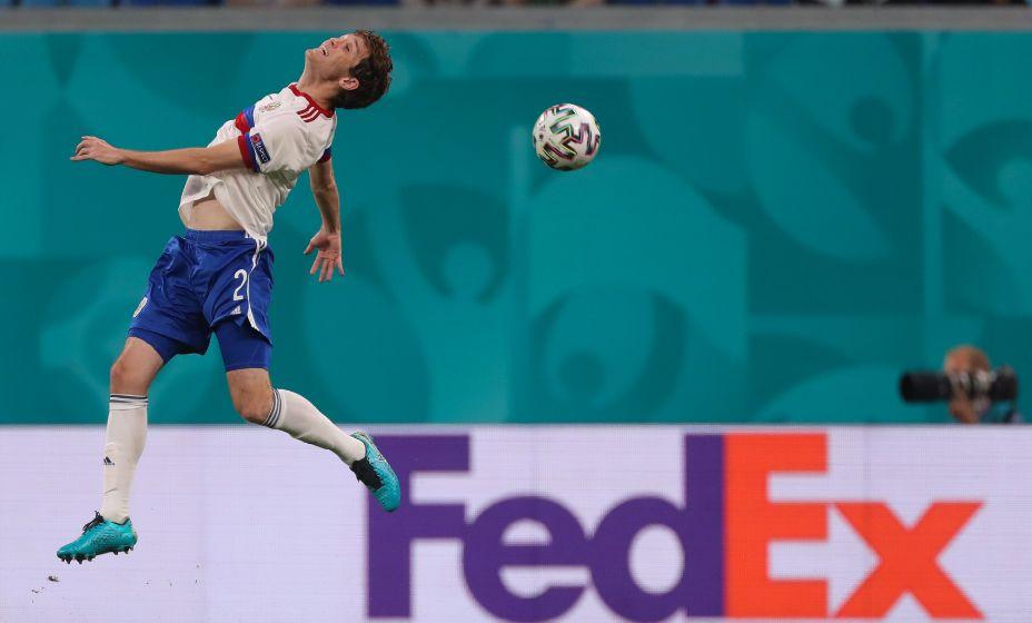 Защитник сборной России Марио Фернандес вернулся к тренировкам. Фото: Global Look Press