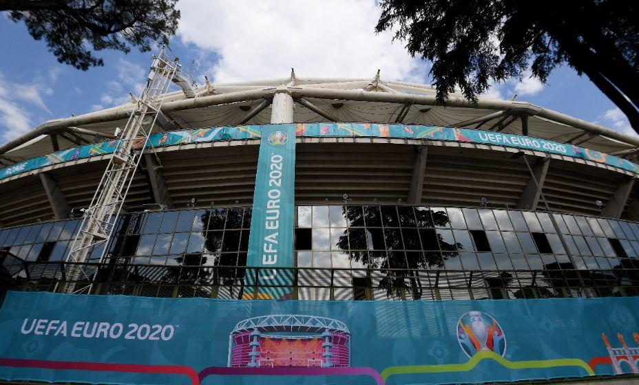Олимпийский стадион Рима в ожидании первого матча Евро-2020. Фото: GloBal Look Press