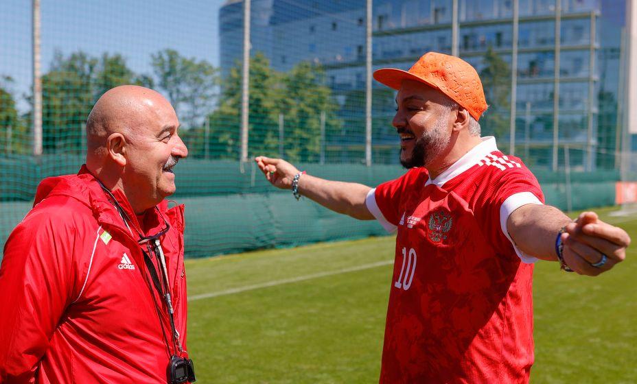 Филипп Киркоров рассказал, кого поддерживает его сын. Фото: РФС