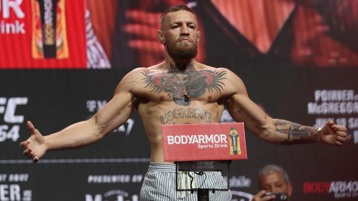 Конор Макгрегор встретился в третий раз с Порье в UFC. Фото: REUTERS