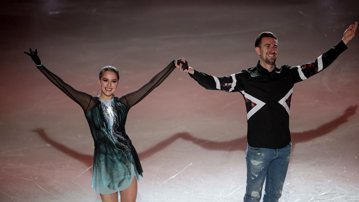 Алина Загитова и Даниил Глейхенгауз. Фото: GLOBAL LOOK PRESS