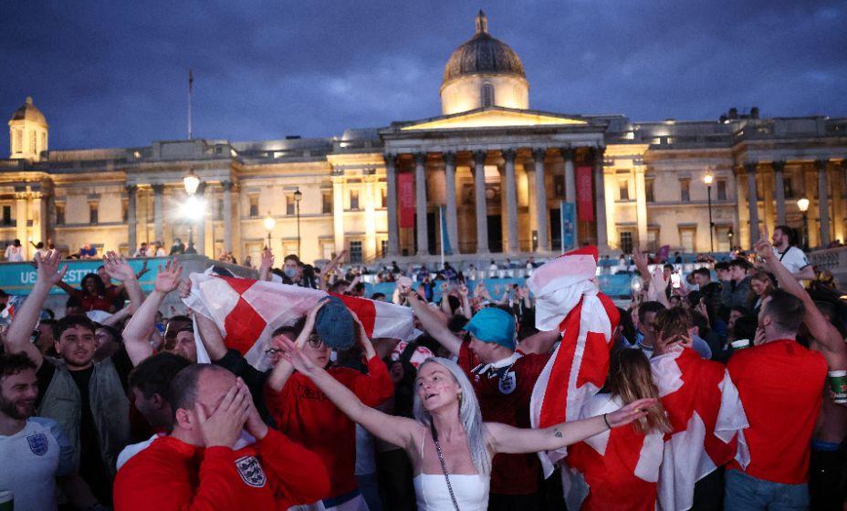 Фанаты в восторге о результатов сборной Англии. Фото: Reuters