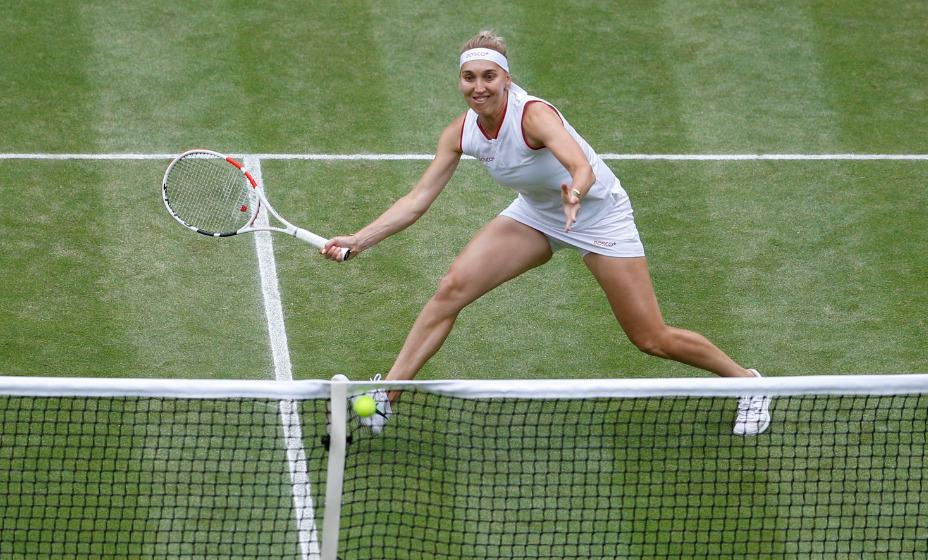 Елена Веснина заменит Дарью Касаткину на олимпийском теннисном турнире в Токио. Фото: Reuters