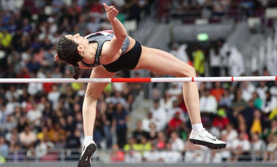 Трехкратная чемпионка мира по прыжкам в высоту Мария Ласицкене будет вести видеоблог Олимпиады-2020. Фото: Global Look Press