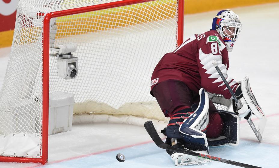 Звезда НХЛ и вратарь сборной Латвии Кивлениекс умер на 25-м году жизни. Фото: Global Press Look