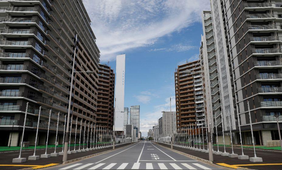 Так выглядела Олимпийская деревня Токио-2020 накануне заселения спортсменами. Фото: Reuters