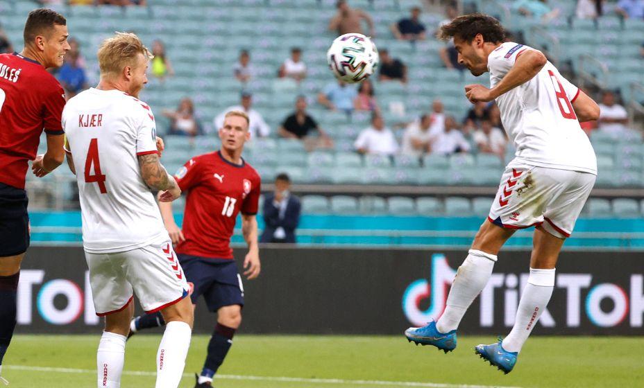 Датчанин Томас Дилейни стал самым грубым игроком на Евро-2020. Фото: Reuters
