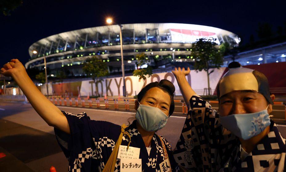 Японцы гордятся своими Национальным стадионом, где состоится открытие Игры-2020, даже несмотря на неприятие самой Олимпиады. Фото: Reuters