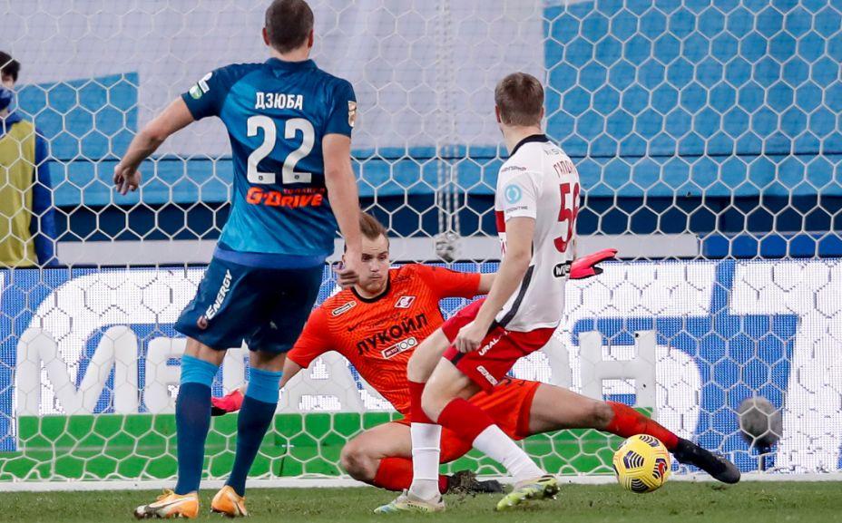 Противостояние «Зенита» и «Спартака» остается главным в Российской Премьер-лиге. Фото: РПЛ